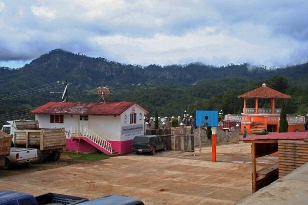 El Centro de San Esteban Atatlahuca.